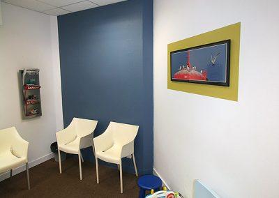 APRÈS. Décoration d'un cabinet médical 2 - Vivre en couleurs