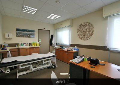 AVANT. Décoration d'un cabinet médical 3 - Vivre en couleurs