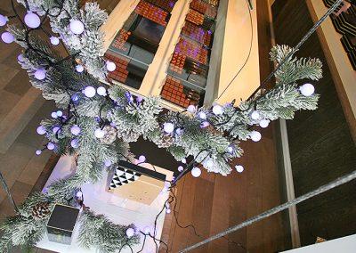 Creation de décors éphémères pour professionnels - chocolatier Noël 3