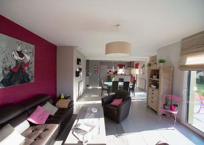 Ambiances intérieures et salons 2 - Véronique Van Achter Coloriste à Brest
