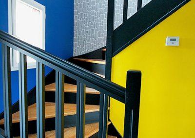 Vivre en couleurs à Brest - Escaliers 5