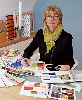Véronique Van Achter, coloriste d'intérieur à Brest Finistère